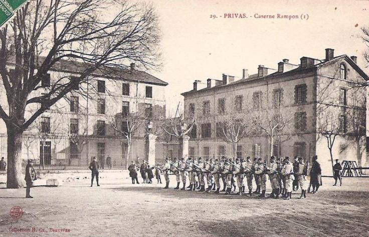 caserne-rampon-privas-64e-regiment-infanterie