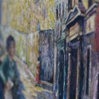 daniel-benne-peintre-tableau-clocher-Hondarribia-Fontarrabie-04