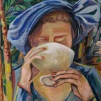 daniel-benne-peintre-tableau-la-femme-en-bleu-orient-06